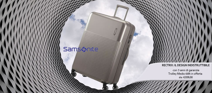 Valigia samsonite rectrix