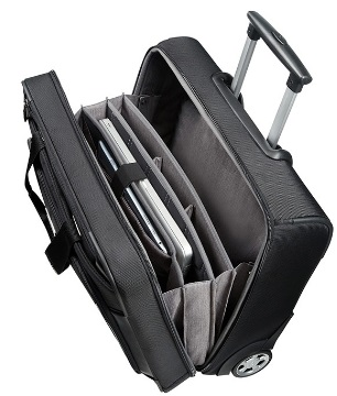 Dettaglio SAMSONITE XBR BUSSINES CASE PORTA PC E DOCUMENTI CON RUOTE ART. 08N011: