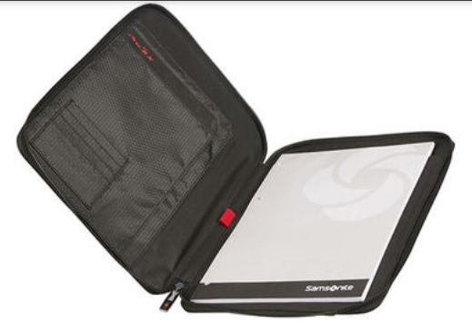 Dettaglio SAMSONITE STATIONERY PRO-DLX 5 -  ZIP FOLDER A4 ART. CL2001: