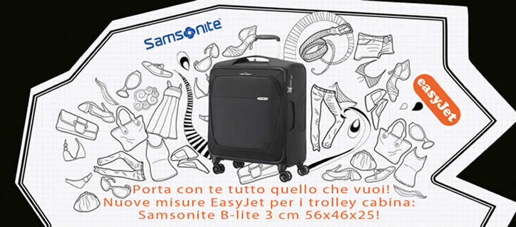 Valigia trolley Cabina Samsonite