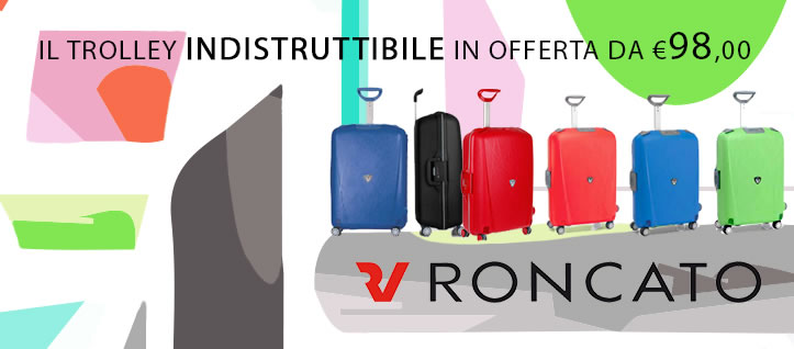 Valigia Trolley Roncato light Young