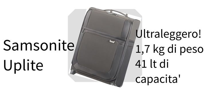 Valigie Trolley Samsonite uplite