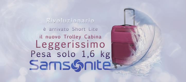 Valigie Trolley Samsonite Short Lite