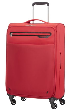 AMERICAN TOURISTER BY SAMSONITE LIGHTWAY TROLLEY MEDIO 4 RUOTE LEGGERISSIMO (2KG)!!!