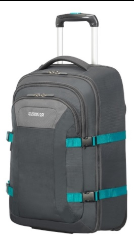 AMERICAN TOURISTE BY SAMSONITE - ROADQUEST ZAINO TROLLEY ART.16G012