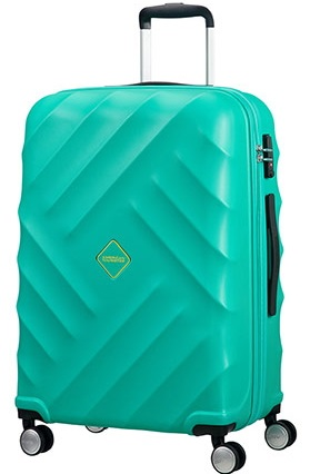 AMERICAN TOURISTER BY SAMSONITE CRYSTAL GLOW TROLLEY GRANDE RIGIDO 4 RUOTE