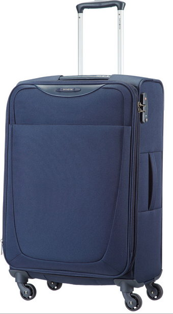 SAMSONITE NUOVA LINEA BASE HITS TROLLEY MEDIO 4 RUOTE ART. 36V003!IL PIU' CONVENIENTE!!!