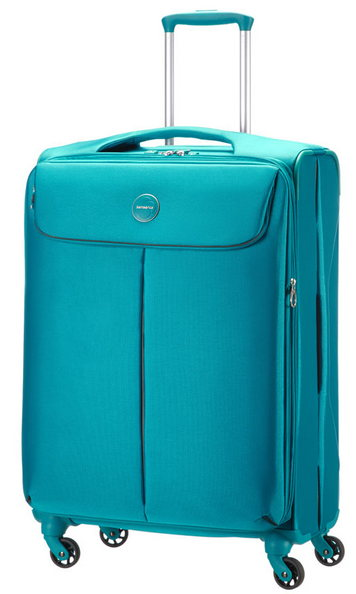 SAMSONITE POP-FRESH TROLLEY MEDIO 4 RUOTE CON ESTENSIONE LEGGERISSIMO 3KG
