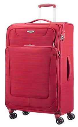 SAMSONITE SPARK NEW RED TROLLEY GRANDE 4 RUOTE ESPANDIBILE ART.38V006