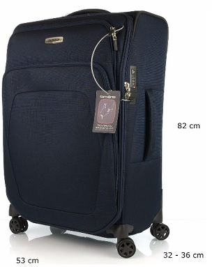 SAMSONITE - SPARK SNG ART. 65N009 TROLLEY GRANDE 82CM