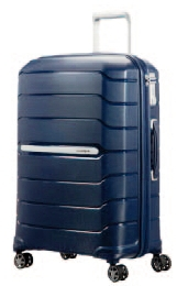 NUOVO SAMSONITE FLUX!  Trolley MEDIO RIGIDO ESPANDIBILE Art. CBO002