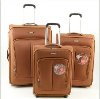RONCATO SMART - SET 3 TROLLEY CON CABINA RYANAIR - ART.7000 COL. RUGGINE