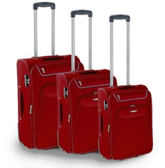 RONCATO - SET 3 TROLLEY GRANDE + MEDIO + PICCOLO ADATTO ANCHE RYANAIR LINEA RUNNER ART. 7220