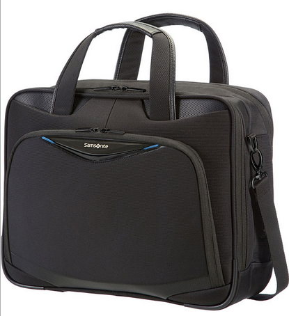 NUOVO SAMSONITE TRIFORCE - CARTELLA 2 MANICI ESPANDIBILE PORTA PC 16 ART.79V005