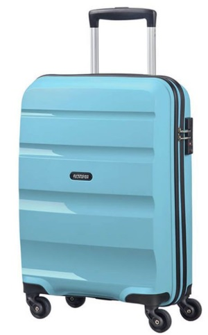 AMERICAN TOURISTER BON AIR TROLLEY MEDIO RIGIDO 4 RUOTE CON TSA