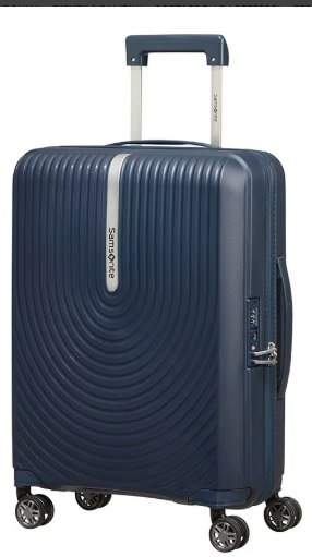 SAMSONITE - HI-FI TROLLEY ESPANDIBILE (4 RUOTE) 55CM ART. KD8001
