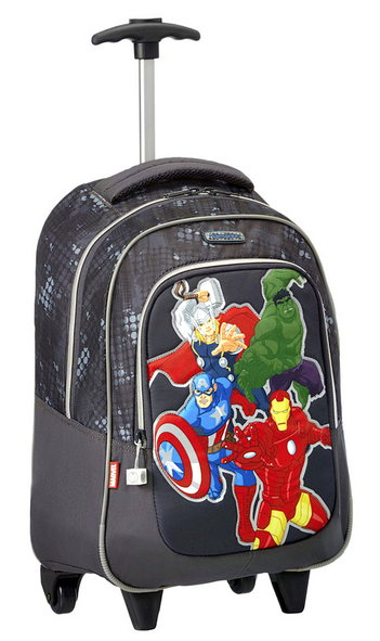 SAMSONITE MARVEL WONDER ZAINO TROLLEY AVENGERS ASSEMBLE