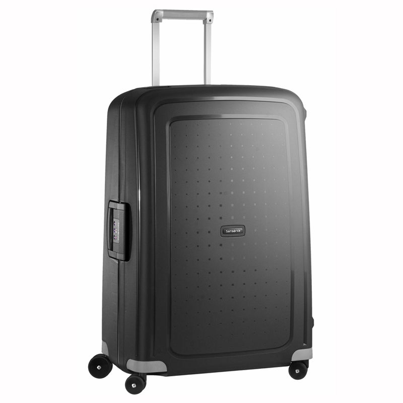 SAMSONITE S'CURE TROLLEY GRANDE RIGIDO CON CHIUSURE A SERRATURA SPINNER 75 ART 10U002