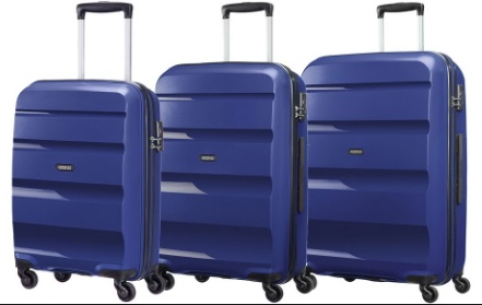 AMERICAN TOURISTER BY SAMSONITE BON AIR SET 3 TROLLEY
