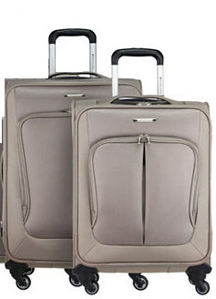 RONCATO SMART SET PZ.2 TROLLEY GRANDE + MEDIO 4 RUOTE COL. ECRU' ART. 7031