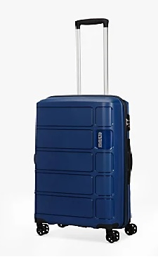AMERICAN TOURISTER SUMMER SPLASH TROLLEY MEDIO RIGIDO 4 RUOTE