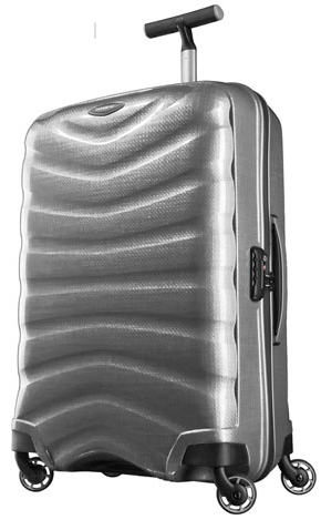 TROLLEY MEDIO 4RUOTE 2013 SAMSONITE LINEA FIRELITE SPINNER 69 ART U72002