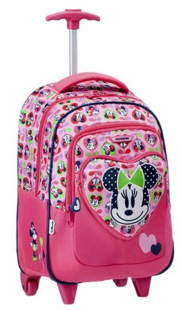 SAMSONITE DISNEY WONDER ZAINO CON RUOTE MINNIE LOVE
