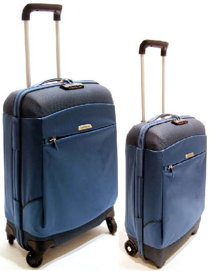 SET TROLLEY SAMSONITE MEDIO 4 RUOTE+CABINA LINEA MOTIO