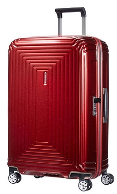 NUOVO SAMSONITE NEOPULSE TROLLEY MEDIO RIGIDO 4 RUOTE (SOLO 2.9KG)!