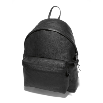 ZAINO IN PELLE EASTPAK PADDED BLACK LEATHER