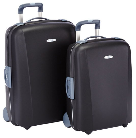 RONCATO FLEXI MADE IN ITALY 10 ANNI DI GARANZIA - SET TROLLEY GRANDE + MEDIO 2 RUOTE ART. 520