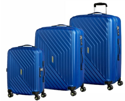 AMERICAN TOURISTER BY SAMSONITE AIR FORCE ONE SET 3 TROLLEY