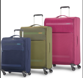 AMERICAN TOURISTER BY SAMSONITE HEROLIITE SET 3 TROLLEY