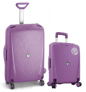 SET TROLLEY RIGIDI RONCATO GRANDE+CABINA OMOLOGATO RYANAIR LINEA LIGHT YOUNG ART 721 E 724