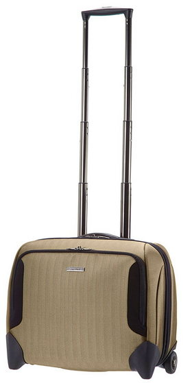 SAMSONITE TAILOR-Z TROLLEY PILOTA CABIN SIZE PORTA PC 16.4