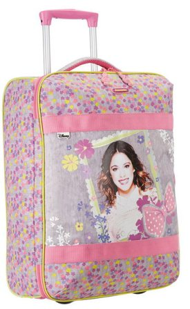 SAMSONITE DISNEY WONDER TROLLEY CABINA VIOLETTA MUSIC