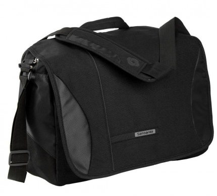 SAMSONITE - CARTELLA MESSENGER PORTA PC CON MANICO