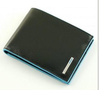 nuovo di zecca 98017 a0e52 PIQUADRO PORTAFOGLIO UOMO CON PORTA MONETE BLUE SQUARE ART.PU1239B2